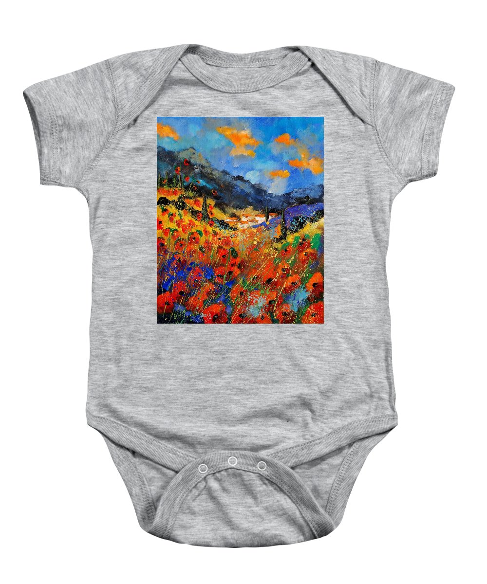 Baby Onesie featuring the painting Provence 459020 by Pol Ledent