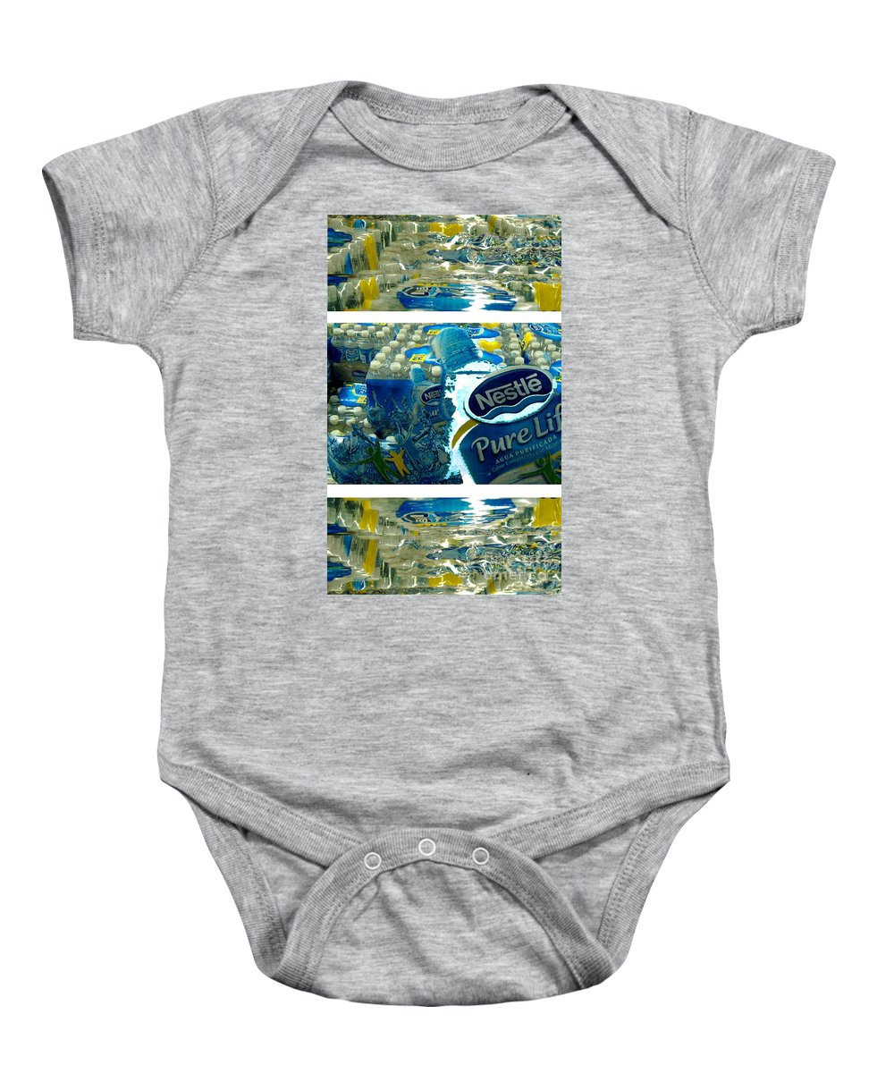 Water Baby Onesie featuring the photograph Pure Life by Ze DaLuz