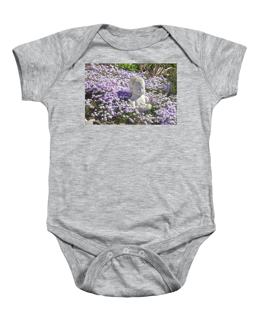 Purple Baby Onesie featuring the photograph Purple Flocks by Mark Holden
