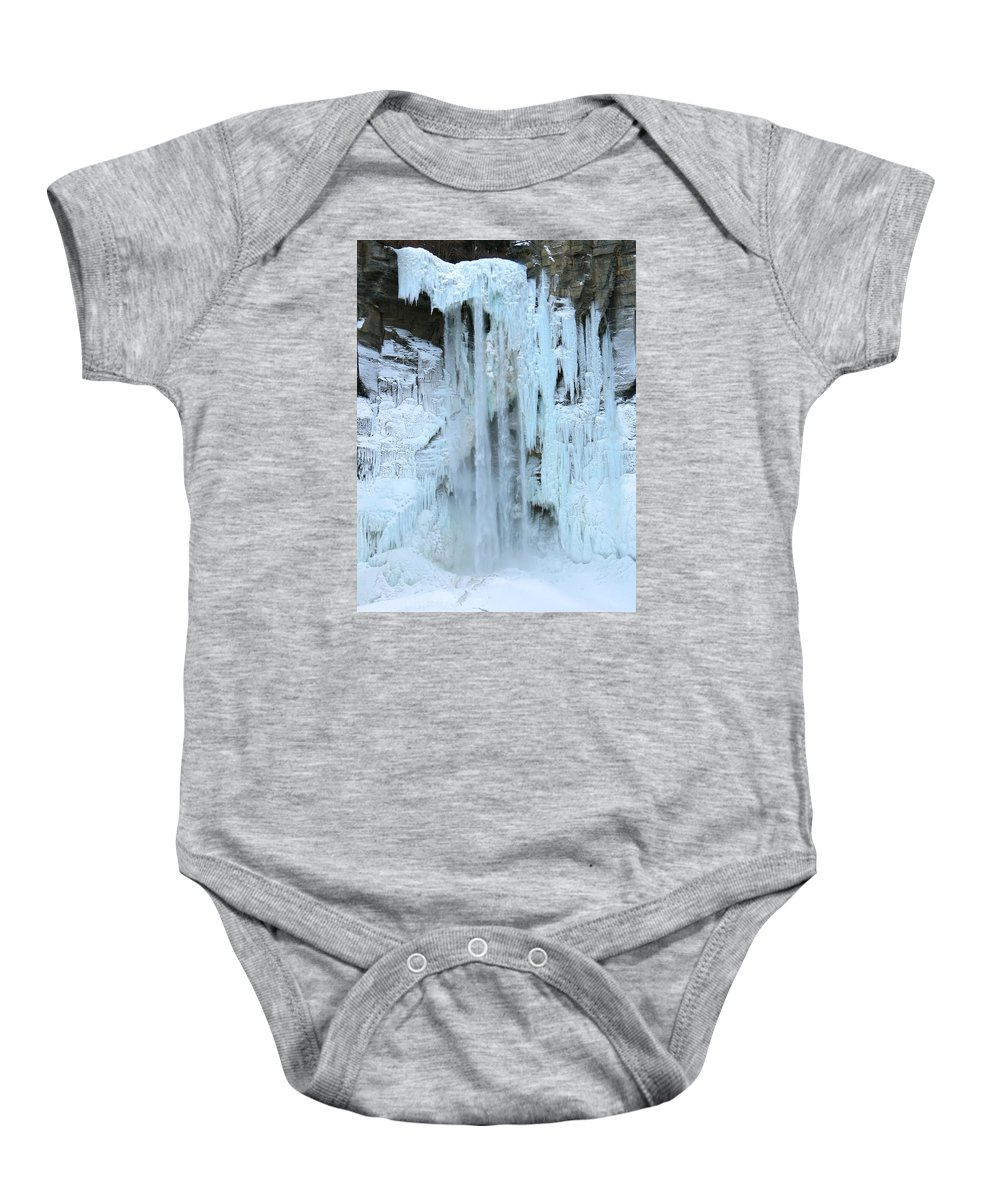 Ice Baby Onesie featuring the photograph Queen's Throne by Azthet Photography