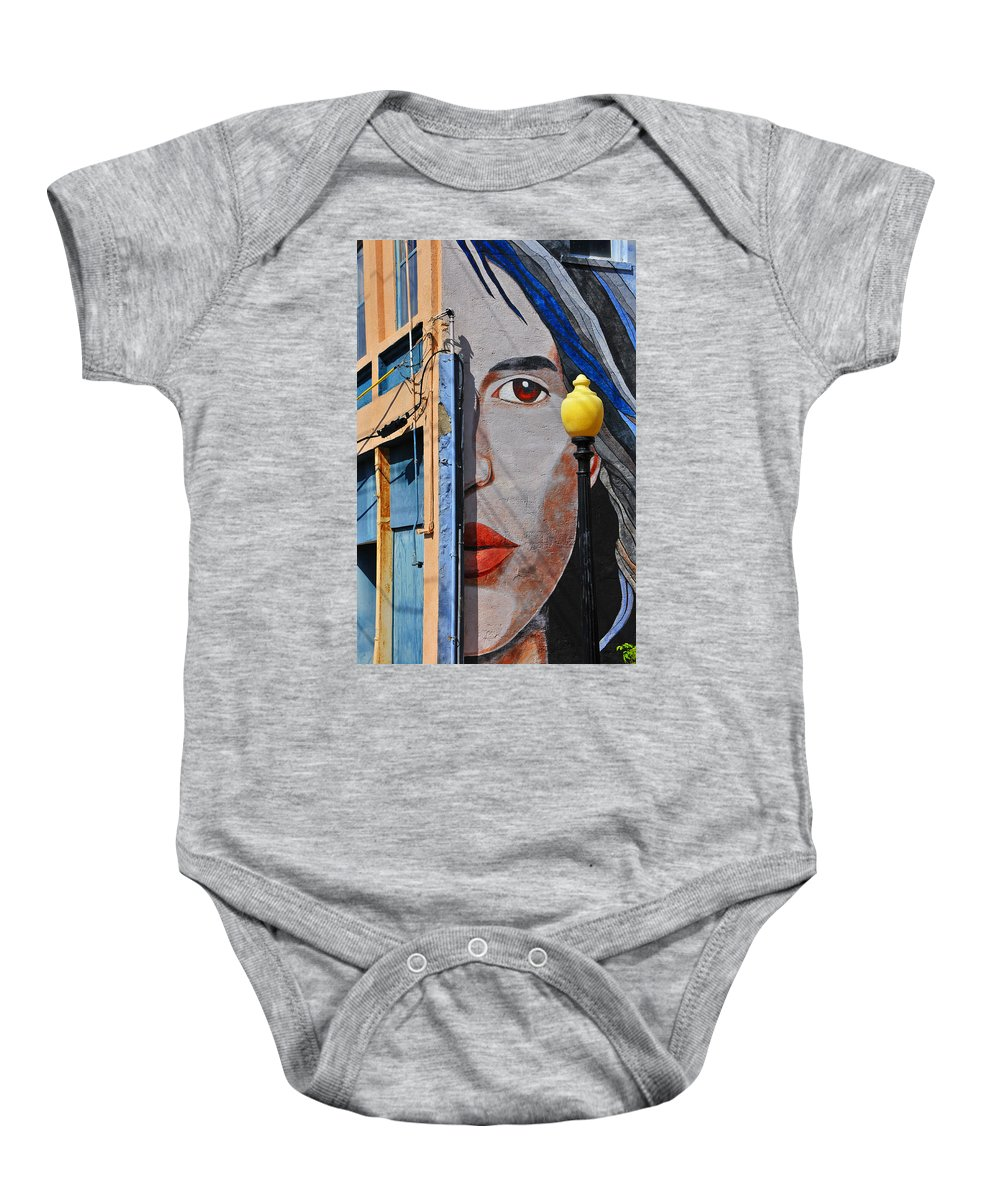 Skip Hunt Baby Onesie featuring the photograph Redeye by Skip Hunt