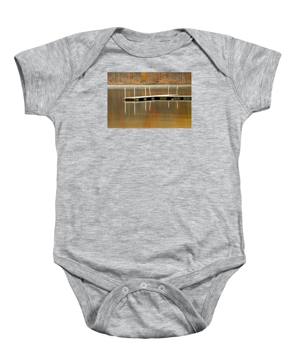 Water Baby Onesie featuring the photograph Reflection by Jennifer Wick