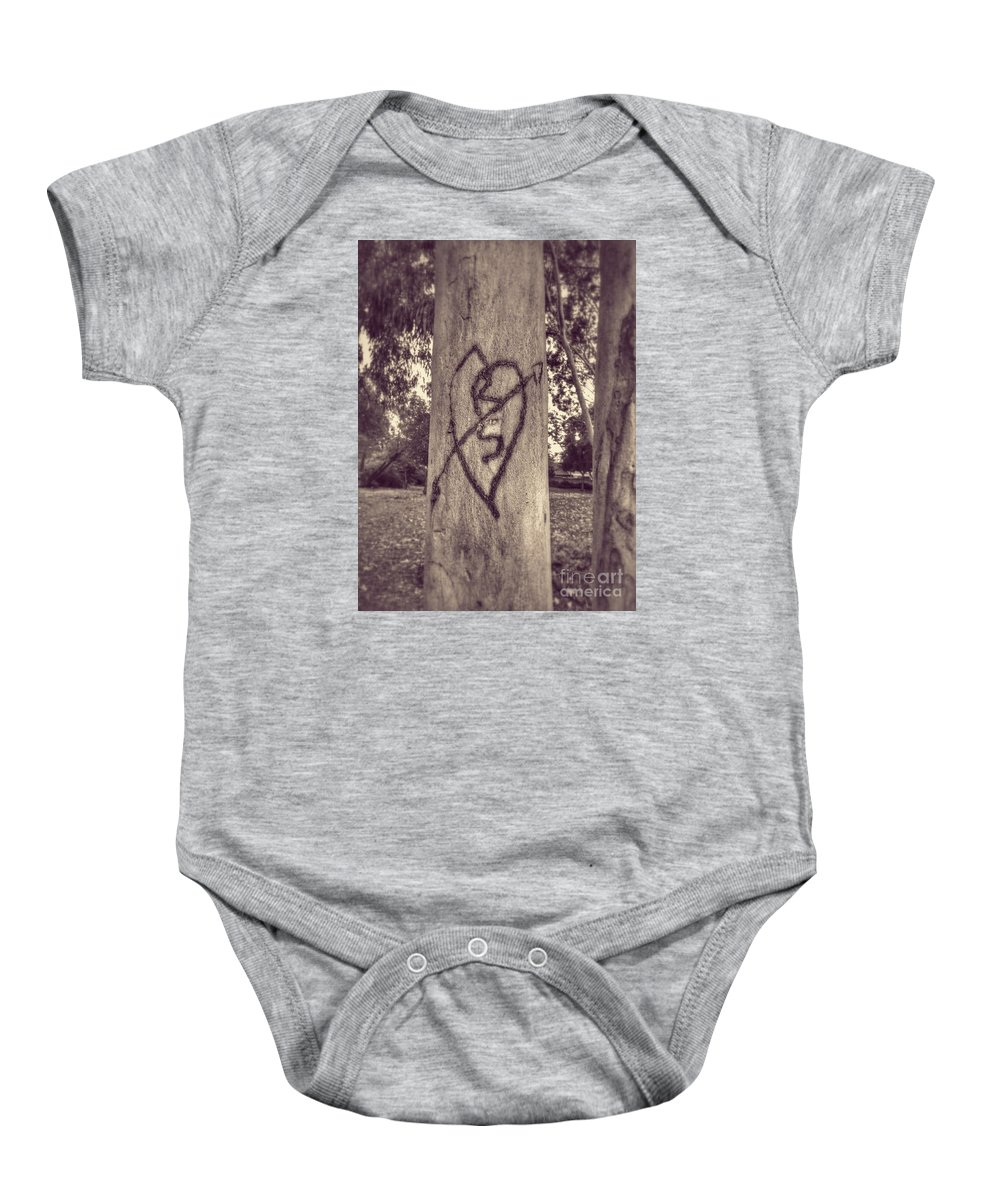 Tree Baby Onesie featuring the photograph Remember When by Leah McPhail