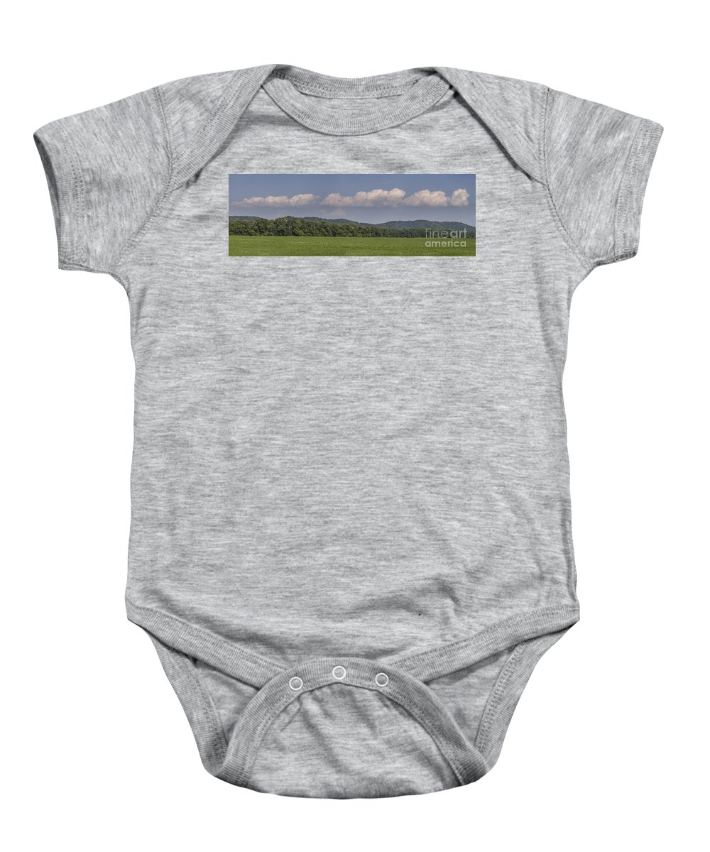 Fine Art Baby Onesie featuring the photograph Replicateed by Larry Braun