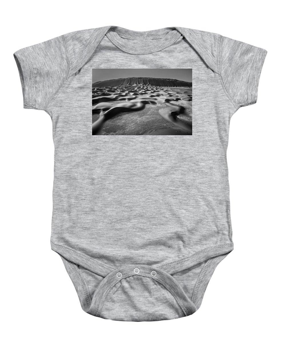 Desert Baby Onesie featuring the photograph Ripples by Robert Work