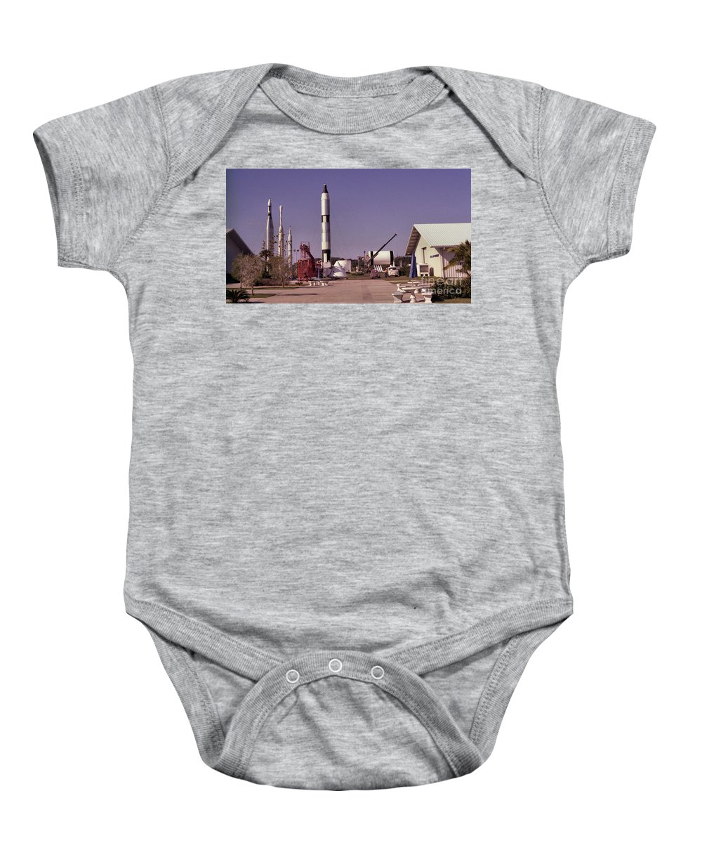 Rocket Baby Onesie featuring the photograph Rocket Garden by Richard Rizzo