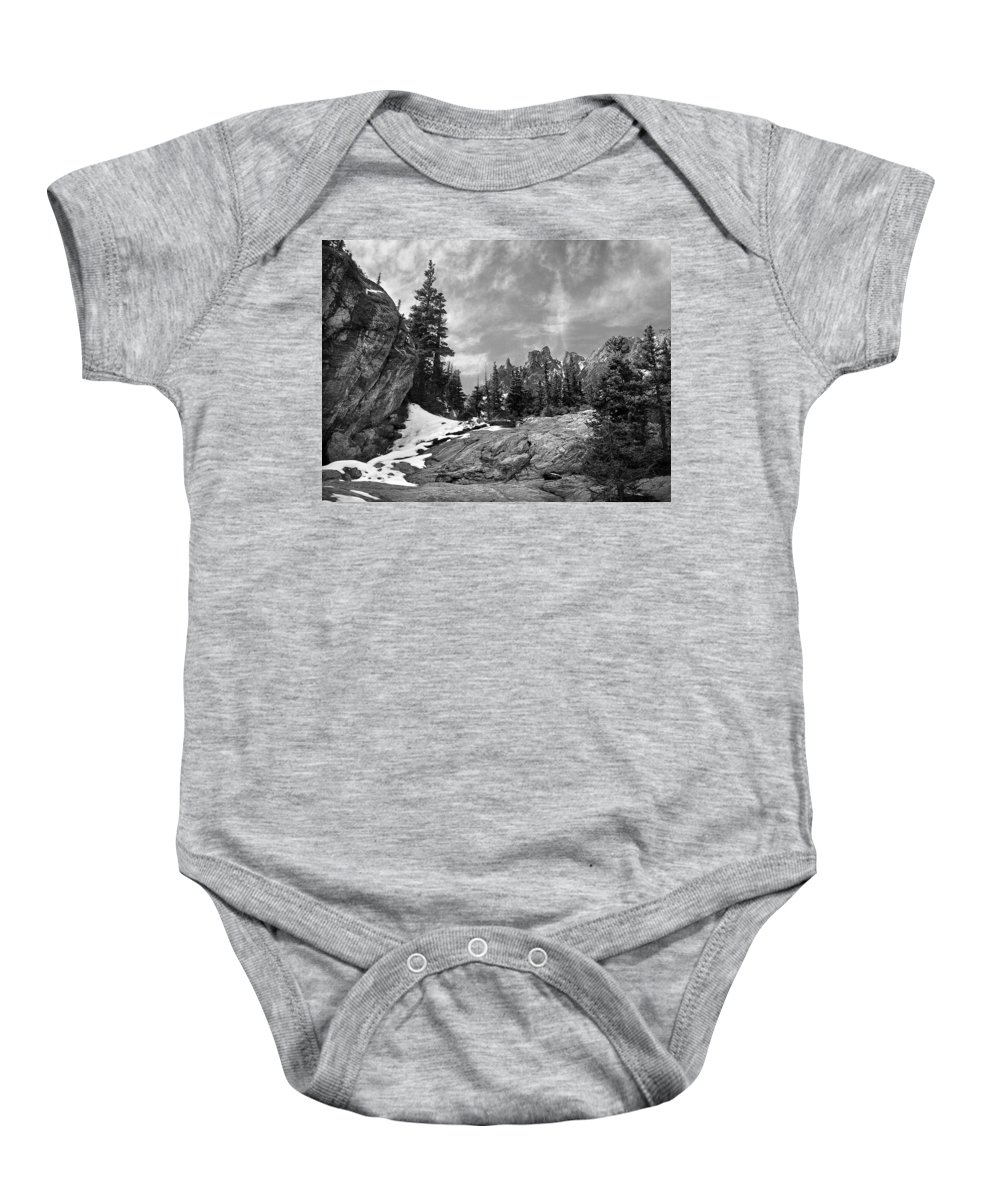 Colorado Baby Onesie featuring the photograph Rocky Mountain Beauty by Marilyn Hunt