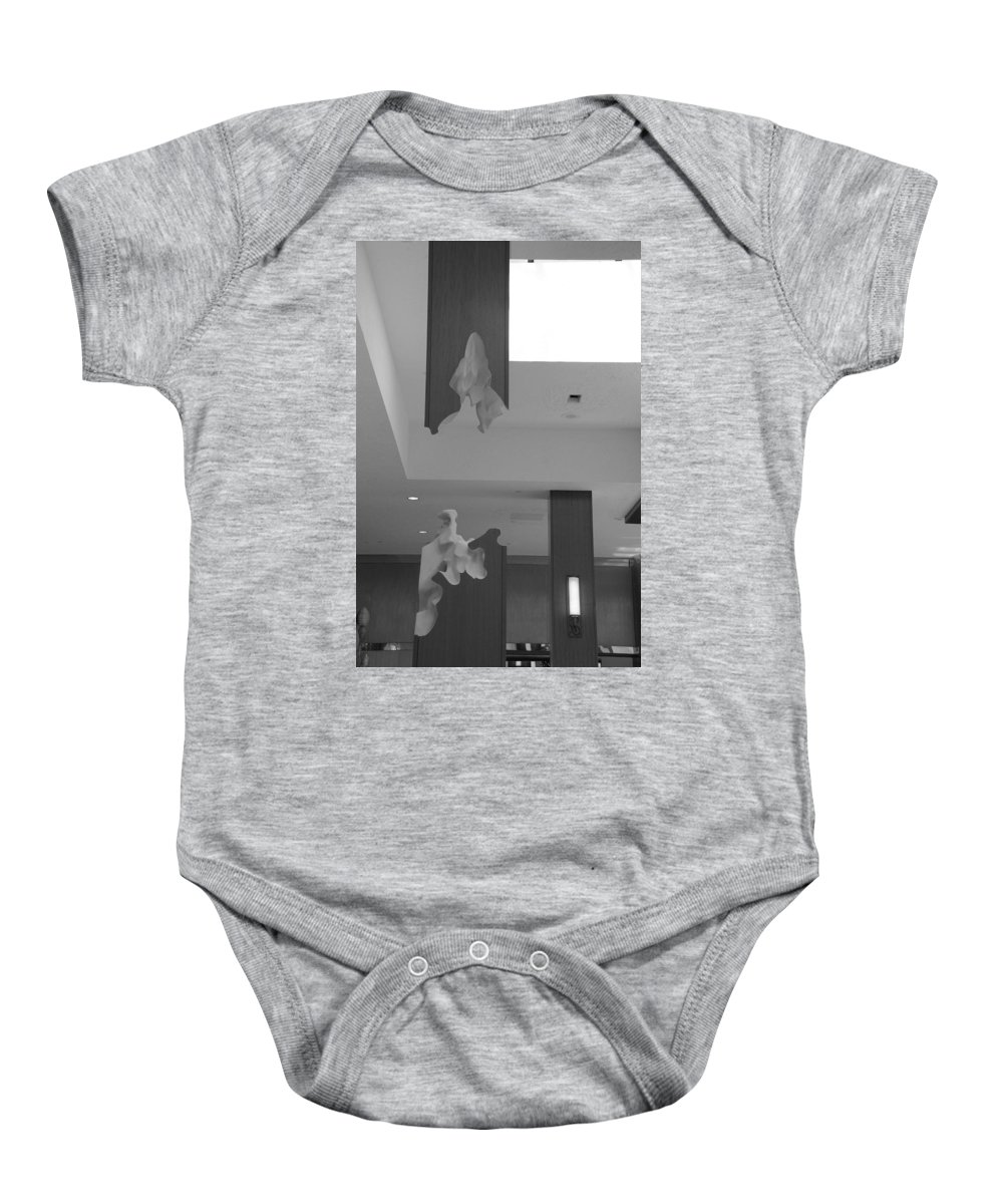 Abstract Baby Onesie featuring the photograph Rotton Stanchon by Rob Hans