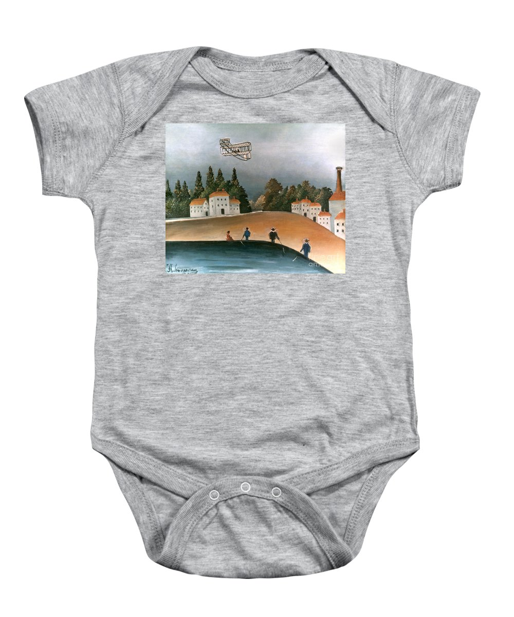 1908 Baby Onesie featuring the photograph Rousseau: Fishermen, 1908 by Granger