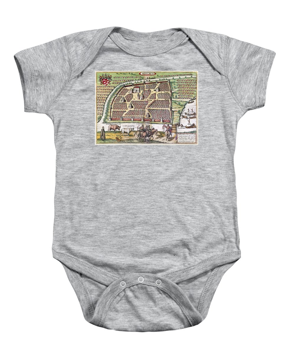 1591 Baby Onesie featuring the photograph Russia: Moscow, 1591 by Granger
