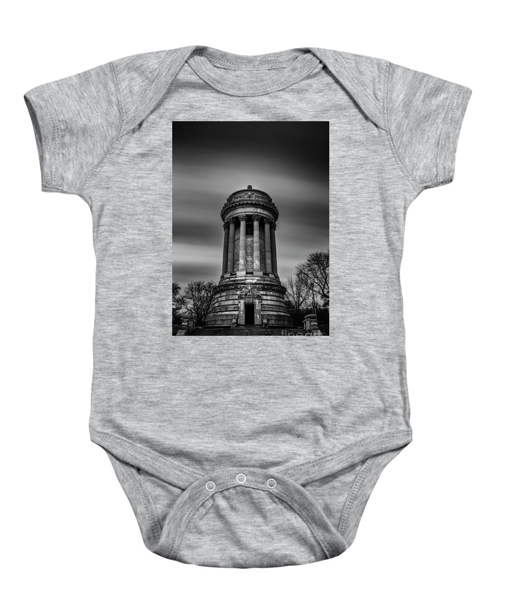Symmetry Baby Onesie featuring the photograph Sailors And Soldiers Monument by Edi Chen