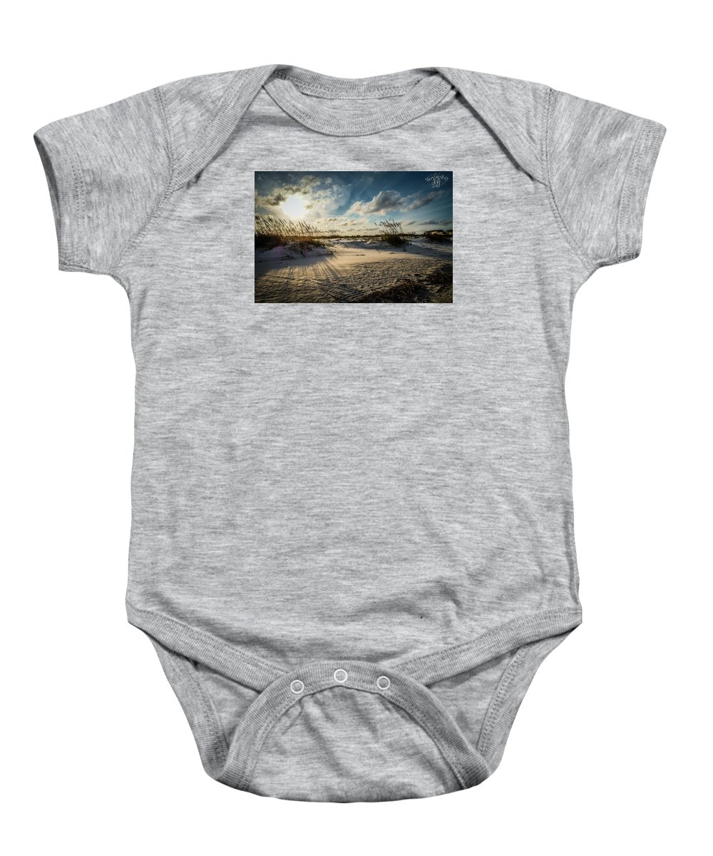 Landscape Baby Onesie featuring the photograph Saint Augustine by Sunshine Nelson