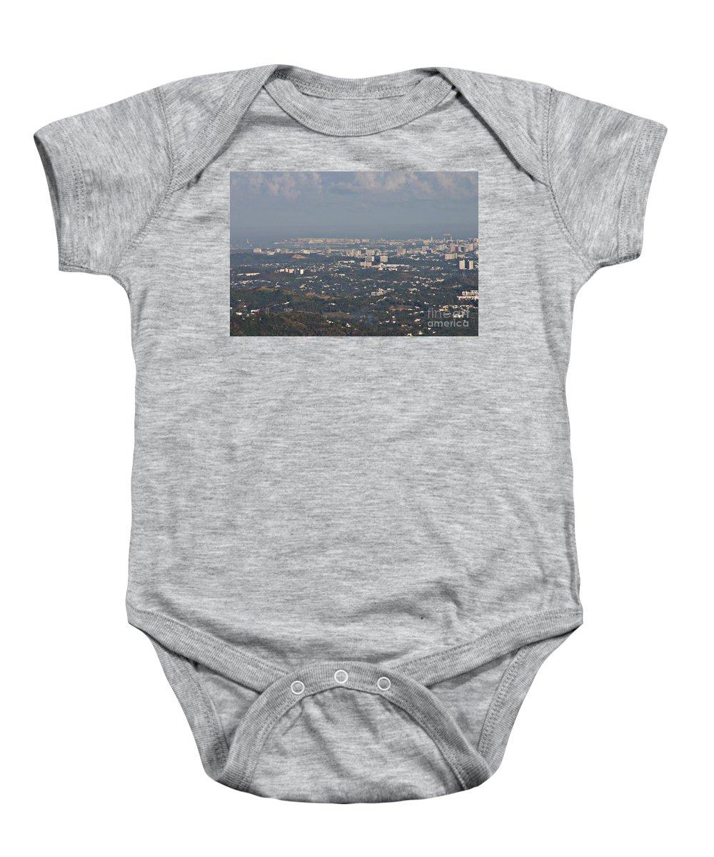 San Juan Baby Onesie featuring the photograph San Juan City by Gilbert