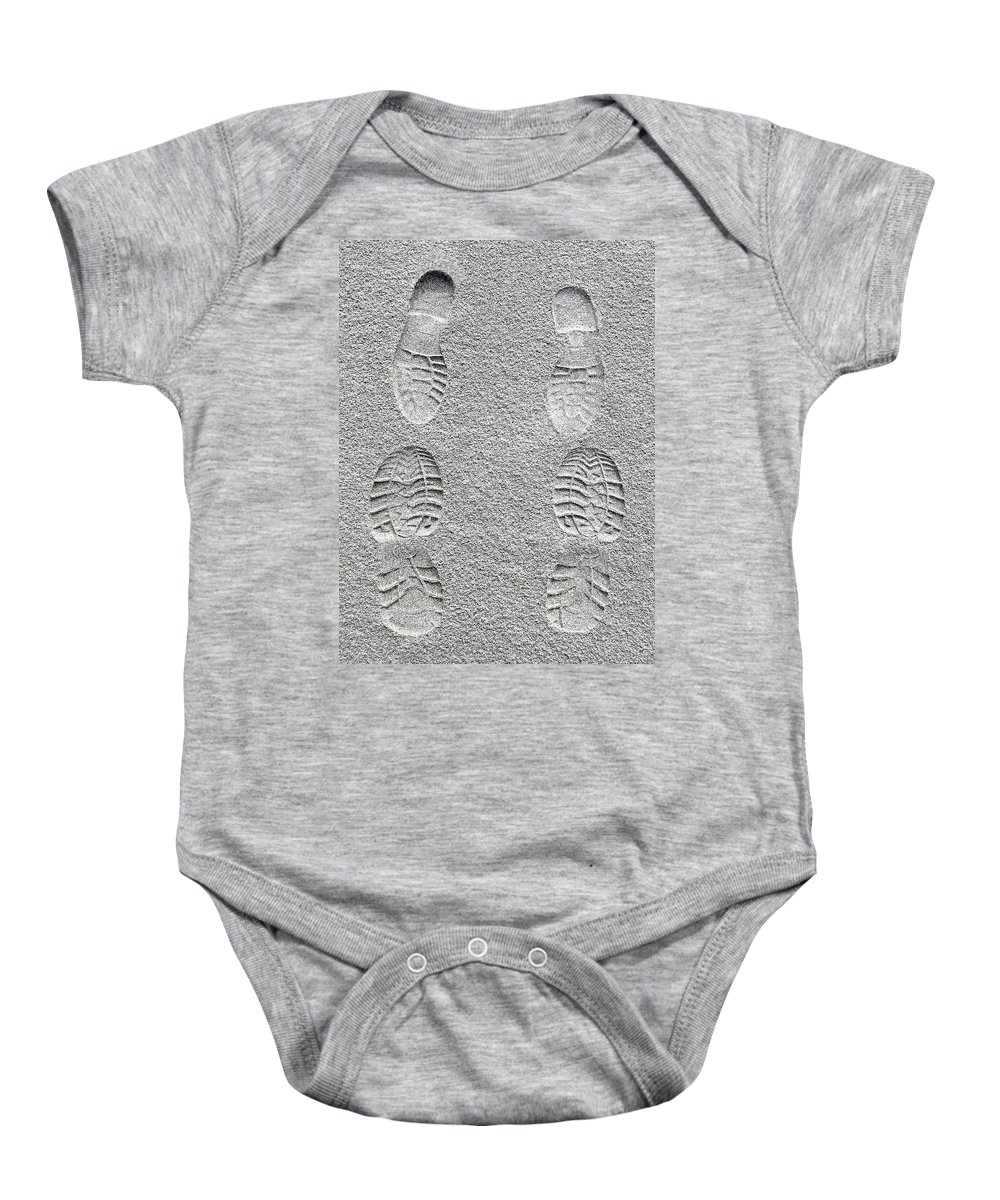 Sealed With A Kiss Baby Onesie featuring the photograph Sealed With A Kiss by Will Borden