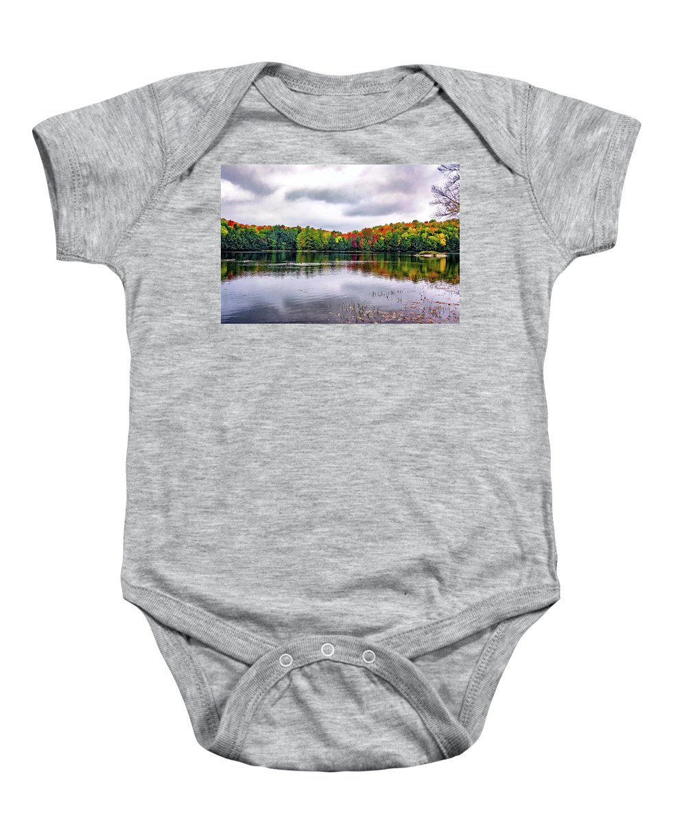 Steve Harrington Baby Onesie featuring the photograph Serenity 3 by Steve Harrington
