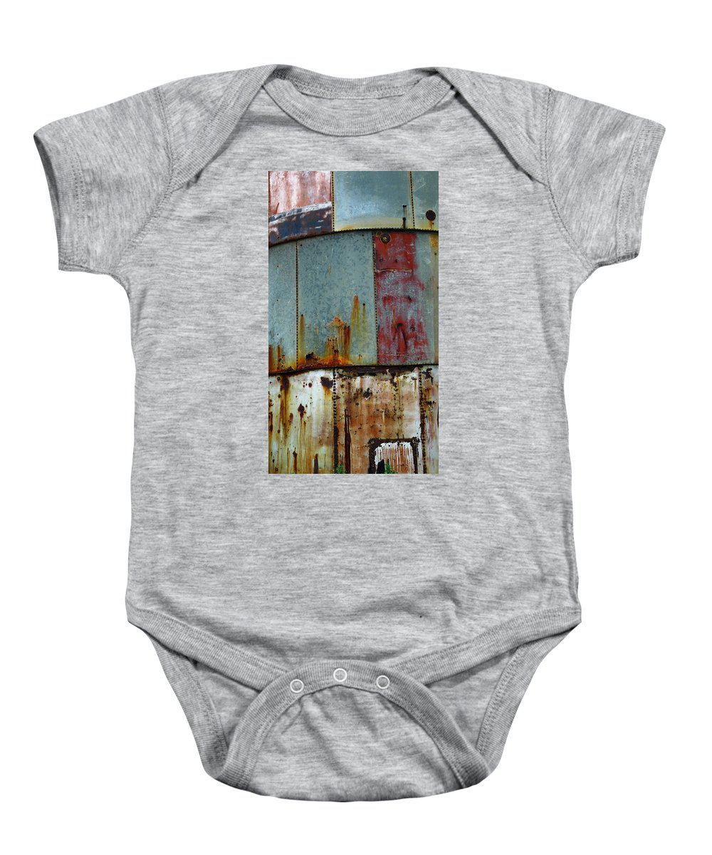 Skip Hunt Baby Onesie featuring the photograph Silo Series 1 by Skip Hunt