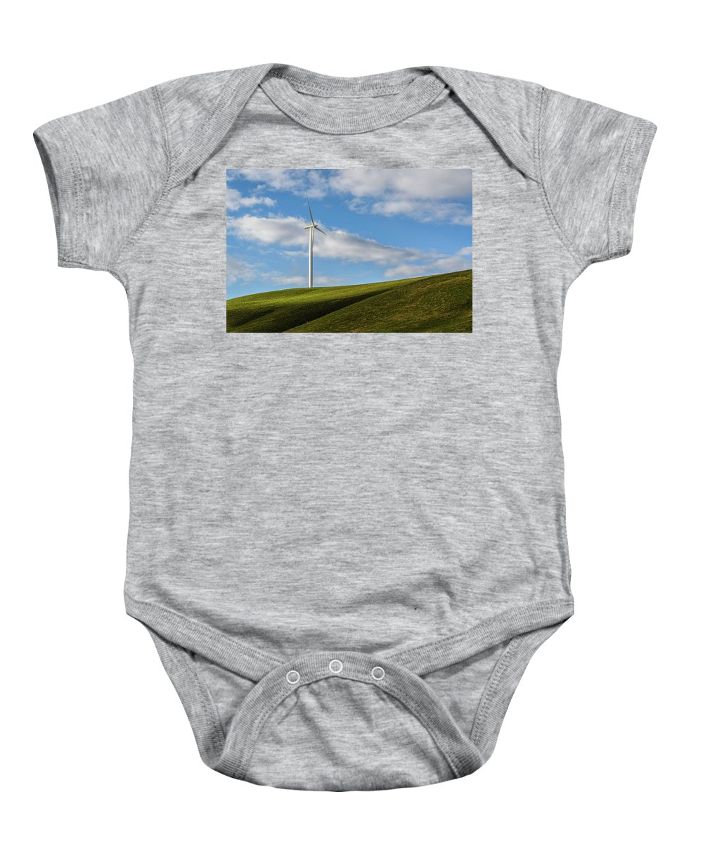 Wind Baby Onesie featuring the photograph Simplicity by Joe Hudspeth