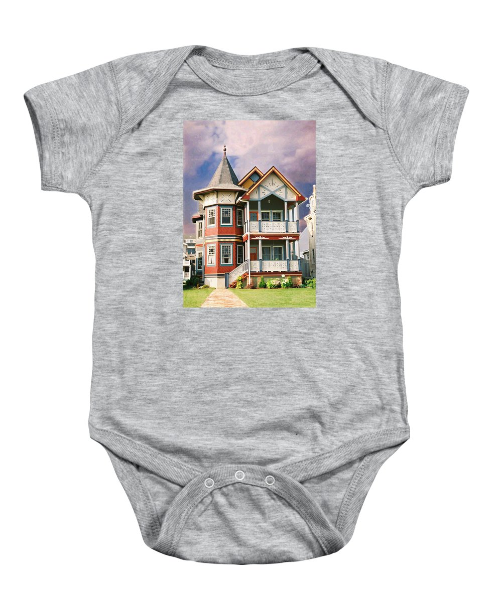 Landscape Baby Onesie featuring the photograph Sisters Panel Two Of Triptych by Steve Karol