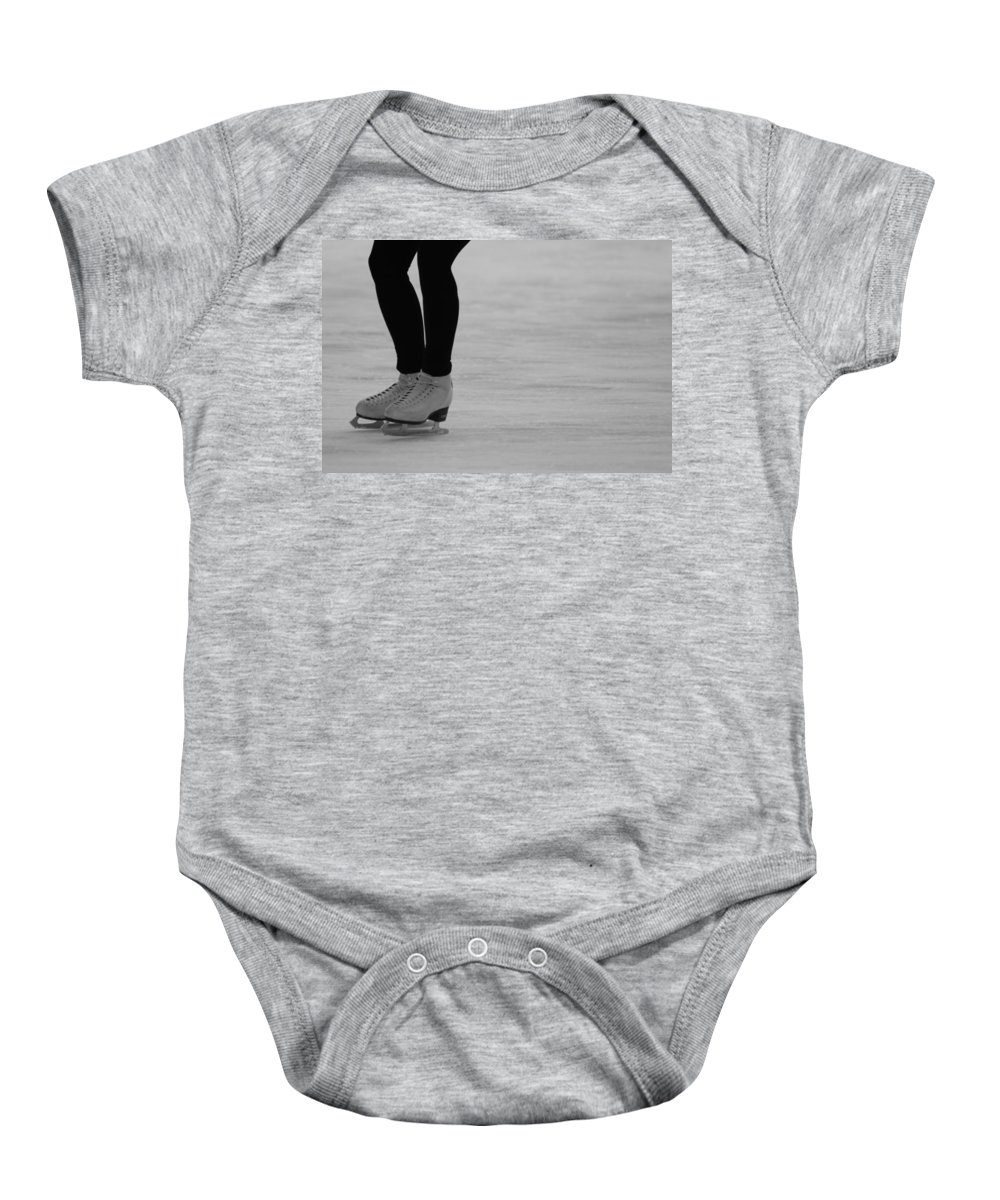 Skating Baby Onesie featuring the photograph Skating II by Lauri Novak
