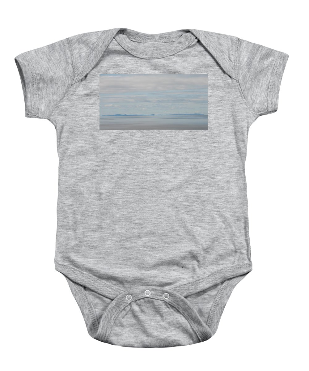 Sky Baby Onesie featuring the photograph Skyscape by Kelly Mezzapelle