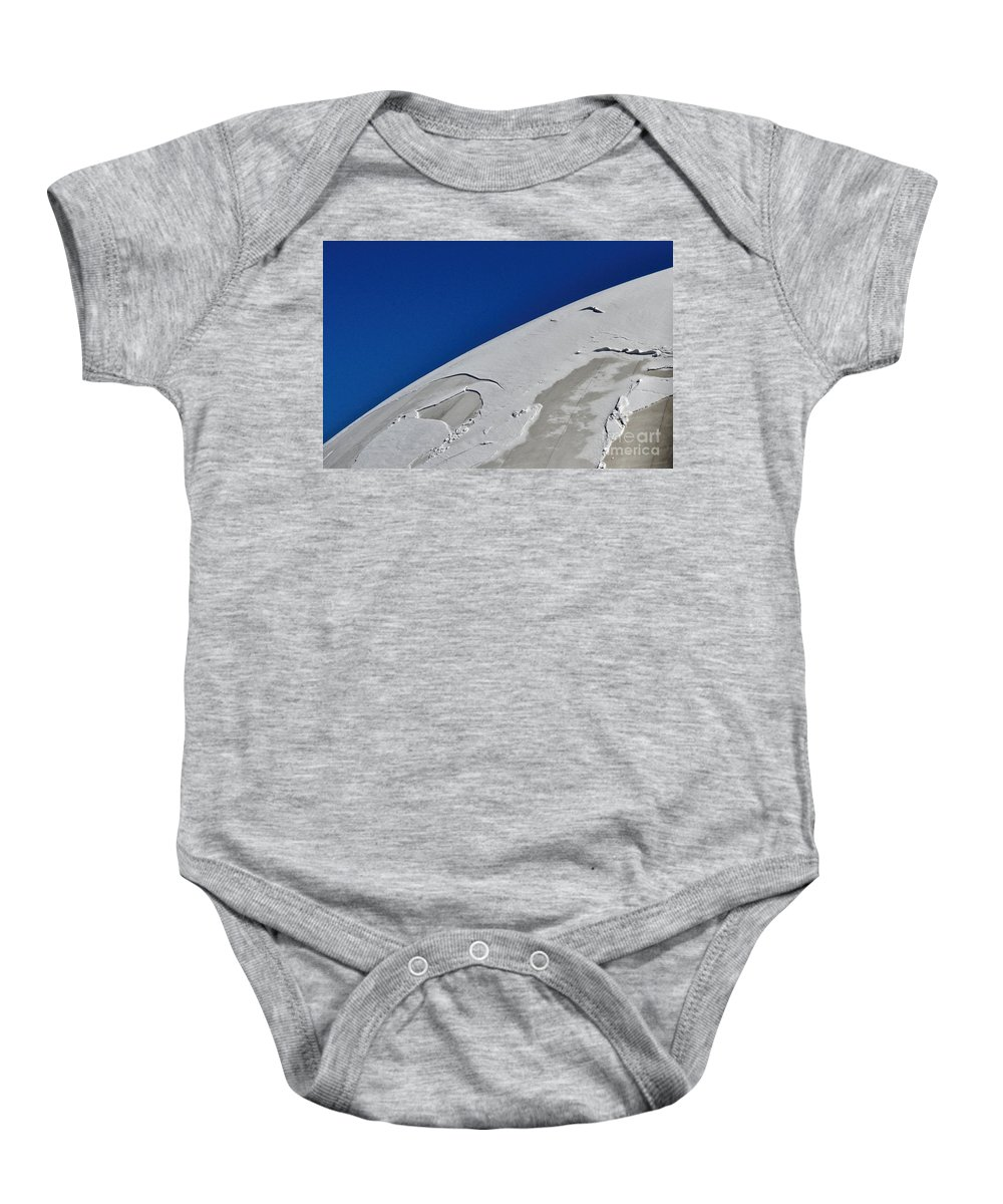 Winter Baby Onesie featuring the photograph Snow Globe by Merrimon Crawford