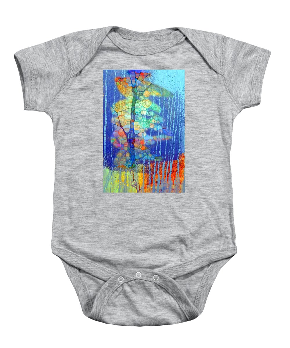 Unearth Baby Onesie featuring the photograph Somewhere Inside Of Me by Tara Turner