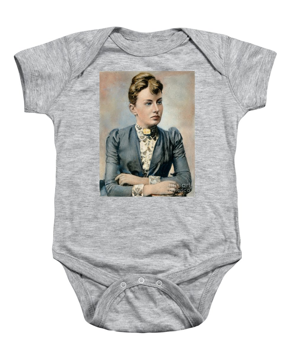 19th Century Baby Onesie featuring the photograph Sonya Kovalevsky (1850-1891) by Granger