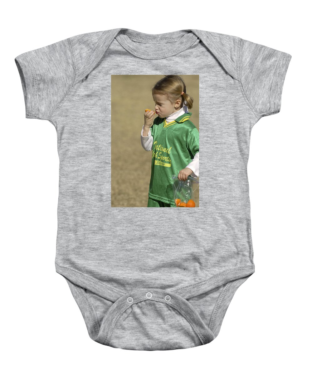Food Baby Onesie featuring the photograph Sour by Jill Reger