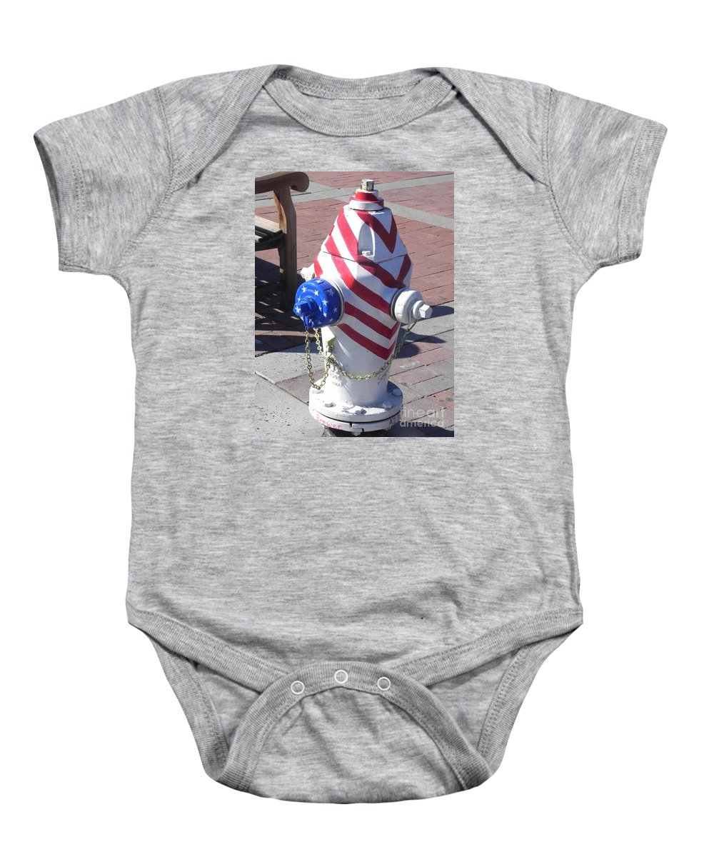 Photography Baby Onesie featuring the photograph Standing Strong by Chrisann Ellis