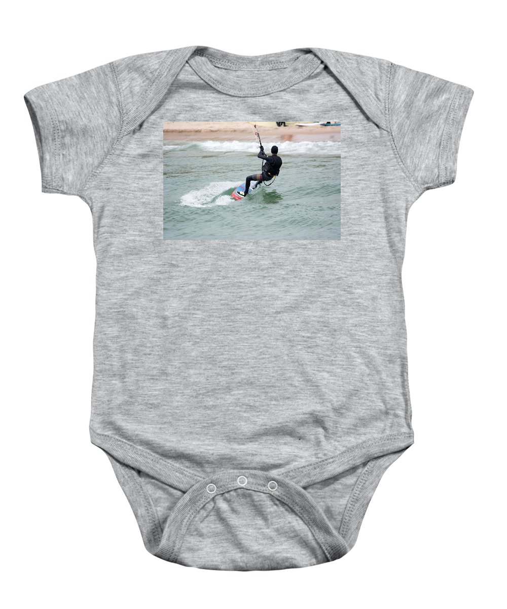 Michigan Baby Onesie featuring the photograph Style by Linda Kerkau
