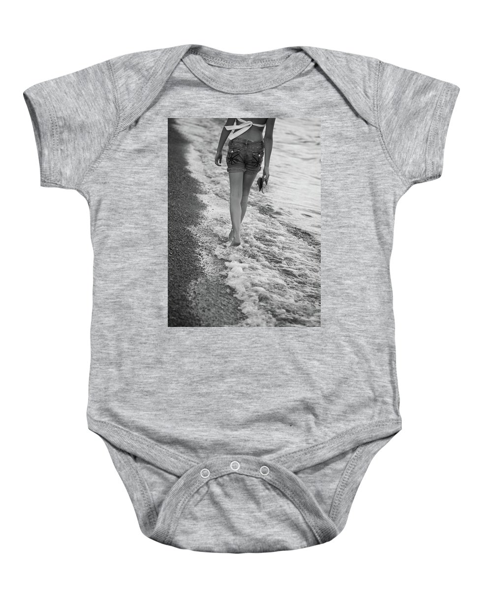 Summer Baby Onesie featuring the photograph Summertime by Lisa Knechtel