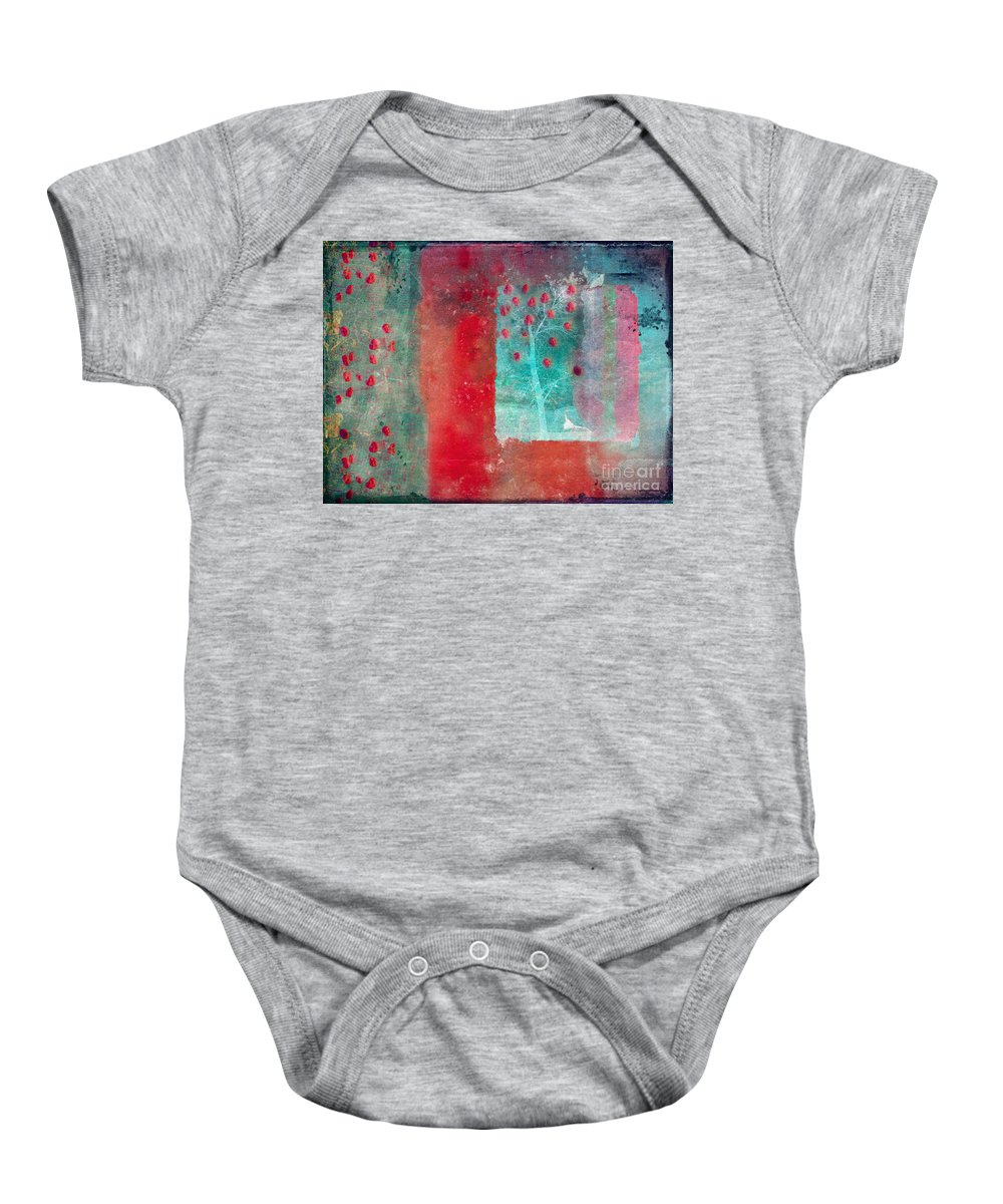 Tree Baby Onesie featuring the photograph Summertime by Tara Turner
