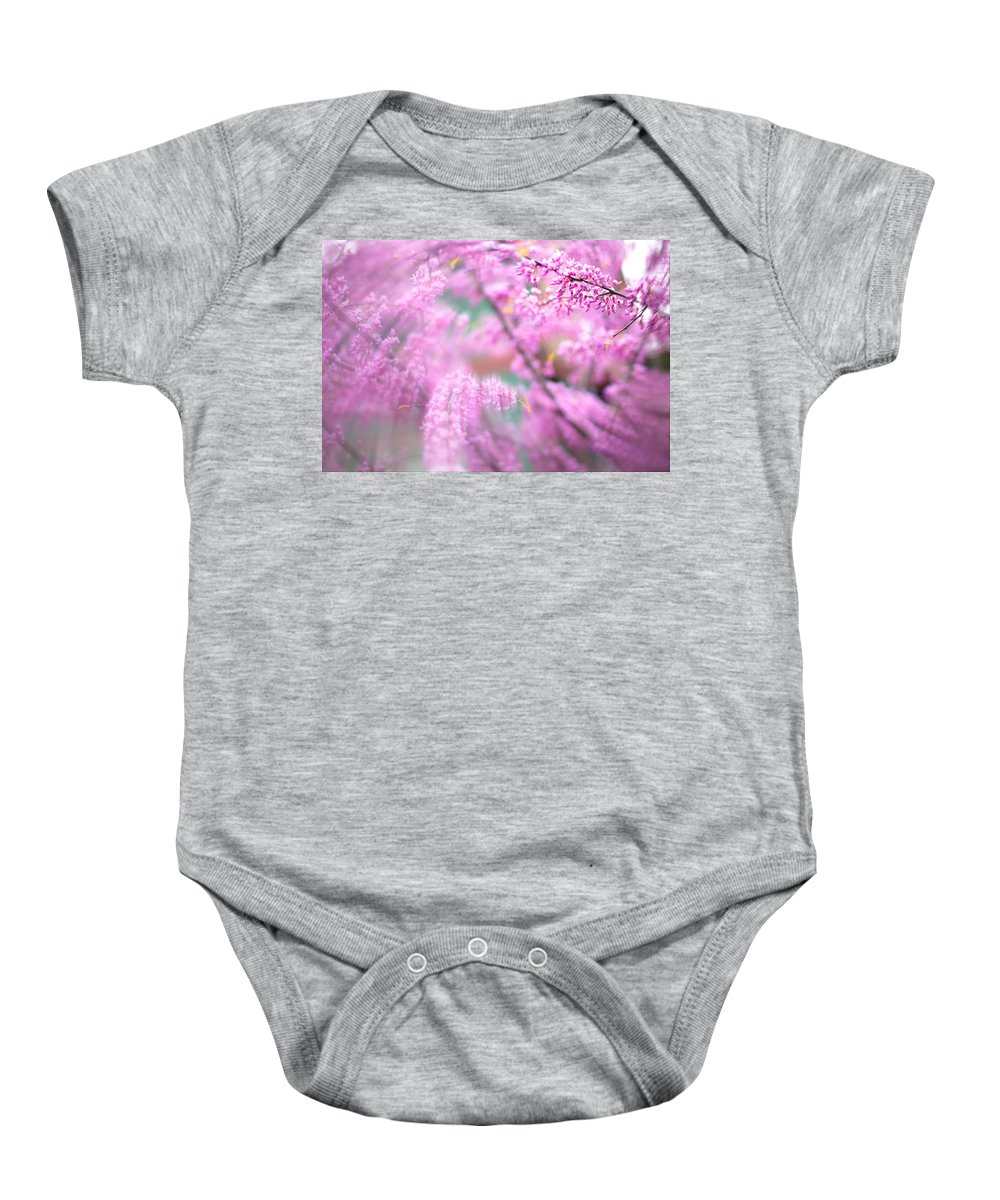 Portland Blossoms Baby Onesie featuring the photograph Swirls Of Spring by Kunal Mehra