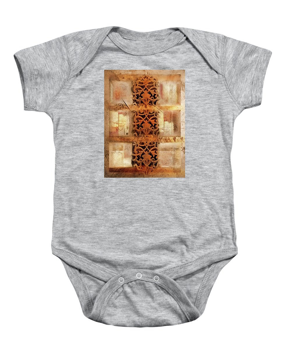Vintage Baby Onesie featuring the photograph Symphony by Carlos Ferreira
