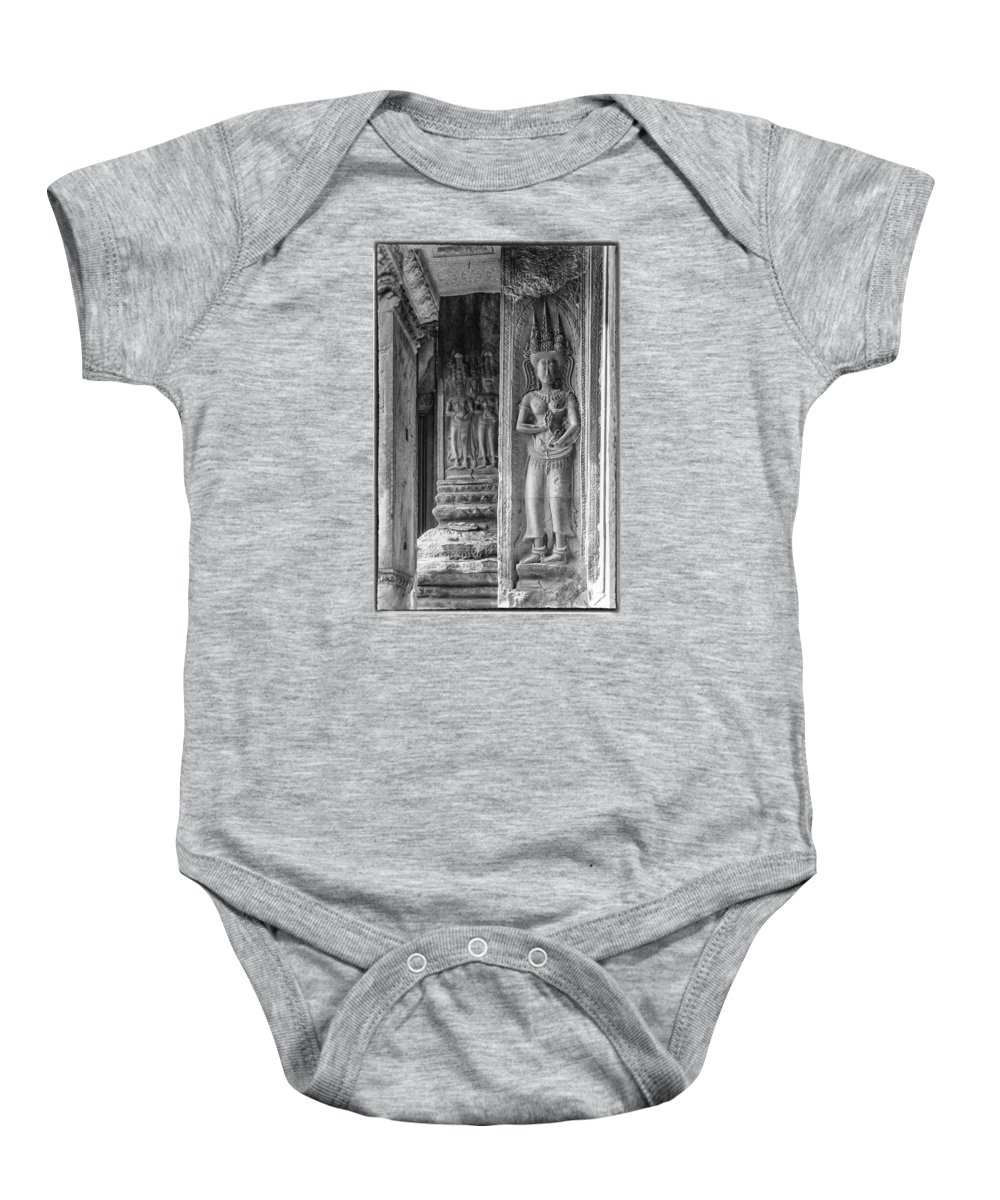 Goddesses Baby Onesie featuring the photograph Temple Goddess by Nichon Thorstrom