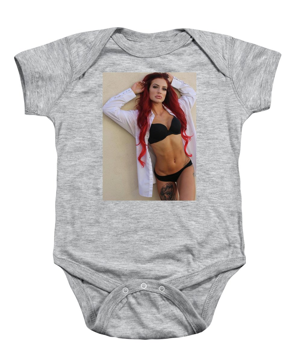 Las Vegas Baby Onesie featuring the photograph Teresa Sands Glam by Ace Micheals