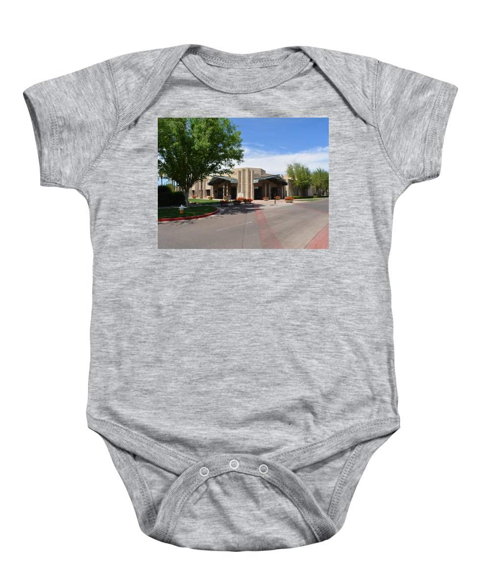 Arizona Biltmore Baby Onesie featuring the photograph The Ballroom At The Arizona Biltmore by Aimee L Maher ALM GALLERY