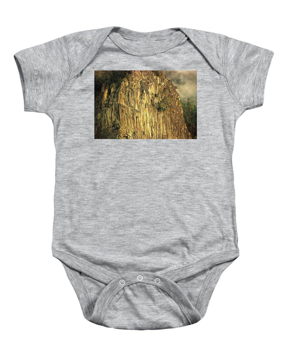 Beacon Rock Baby Onesie featuring the photograph The Beacon Rock Encounter by David Coleman