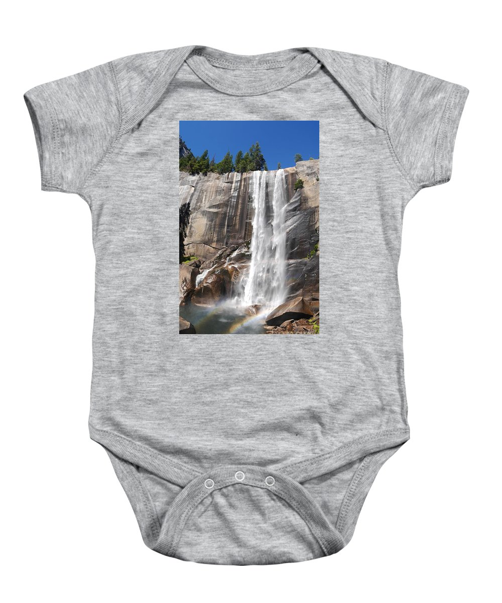 Nps Baby Onesie featuring the photograph The Beautiful Venral Fall by Chon Kit Leong