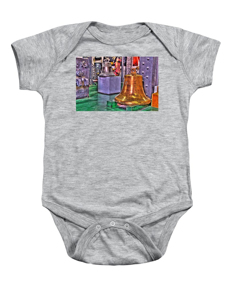 Bells Baby Onesie featuring the photograph The Bell Tolls by Francisco Colon