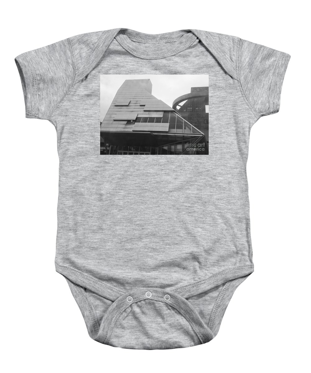Building Baby Onesie featuring the photograph The California Building by Ishy Christine MudiArt Gallery