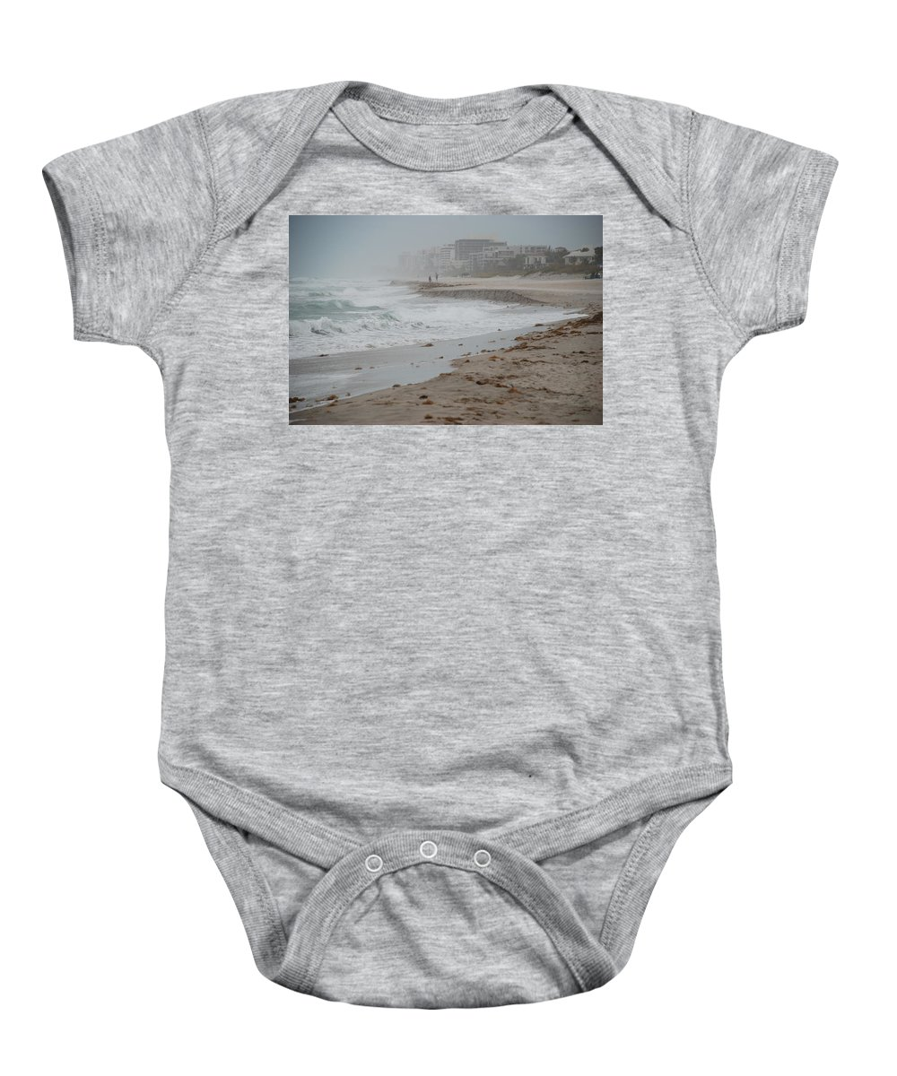 Water Baby Onesie featuring the photograph The Coast by Rob Hans