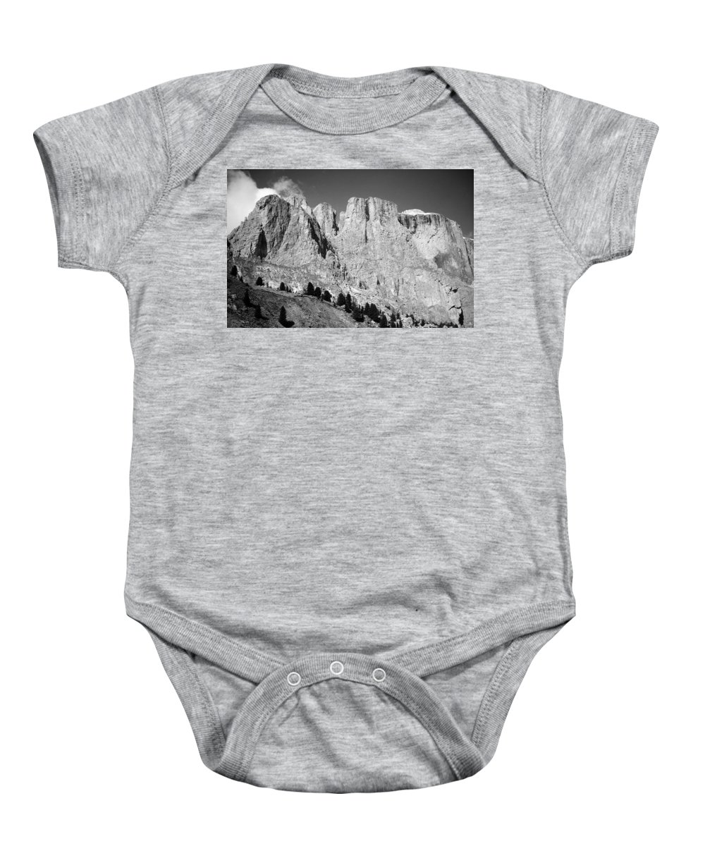 Europe Baby Onesie featuring the photograph The Dolomites by Juergen Weiss