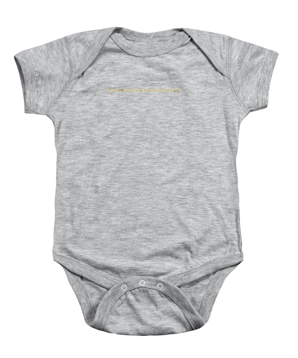The Hegassen Scroll Baby Onesie featuring the painting The Hegassen Scroll by Celestial Images