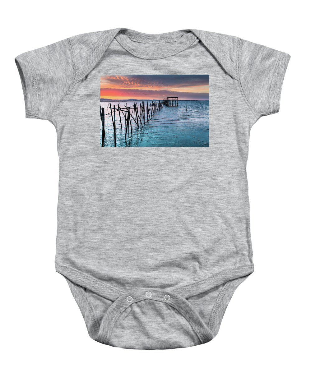 The Lost World Baby Onesie featuring the photograph The Lost World by Edgar Laureano