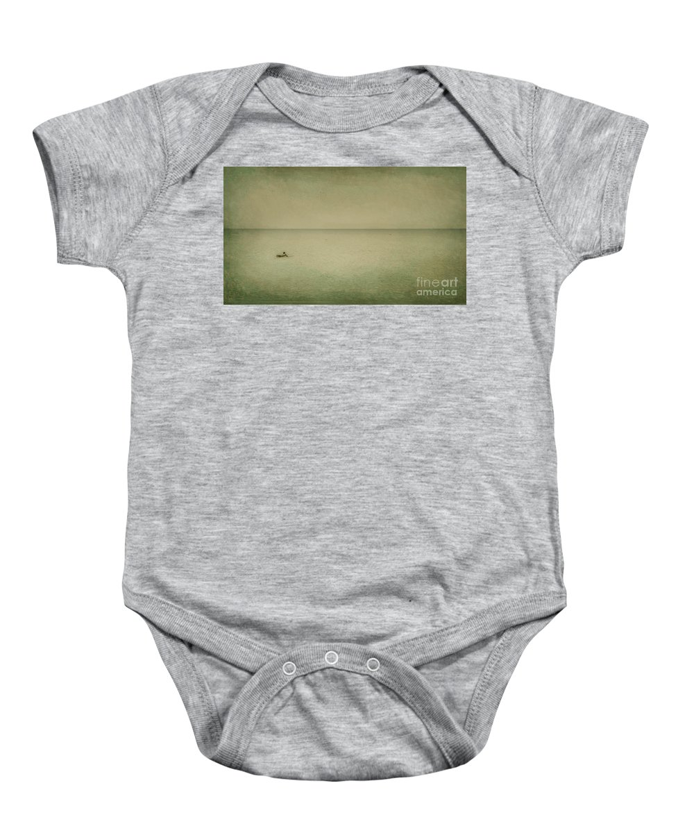 Sea Baby Onesie featuring the photograph The Recesses Of The Deep by Dana DiPasquale