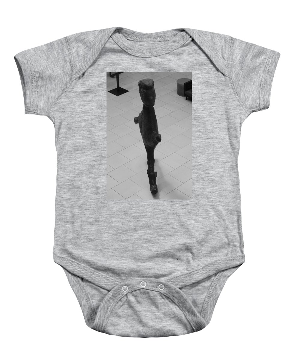 Pop Art Baby Onesie featuring the photograph The Thin Man by Rob Hans