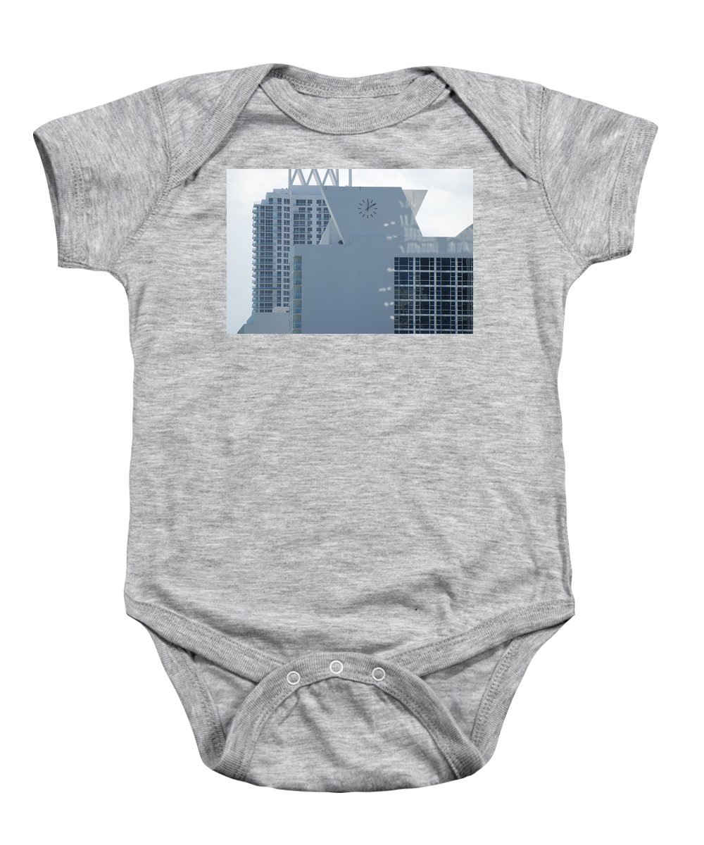 Sun Baby Onesie featuring the photograph The Time Is...12 10 by Rob Hans