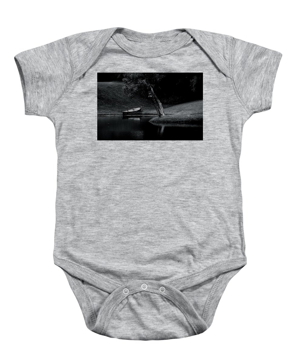 Photo Baby Onesie featuring the photograph The Water's Edge by Darin Baker
