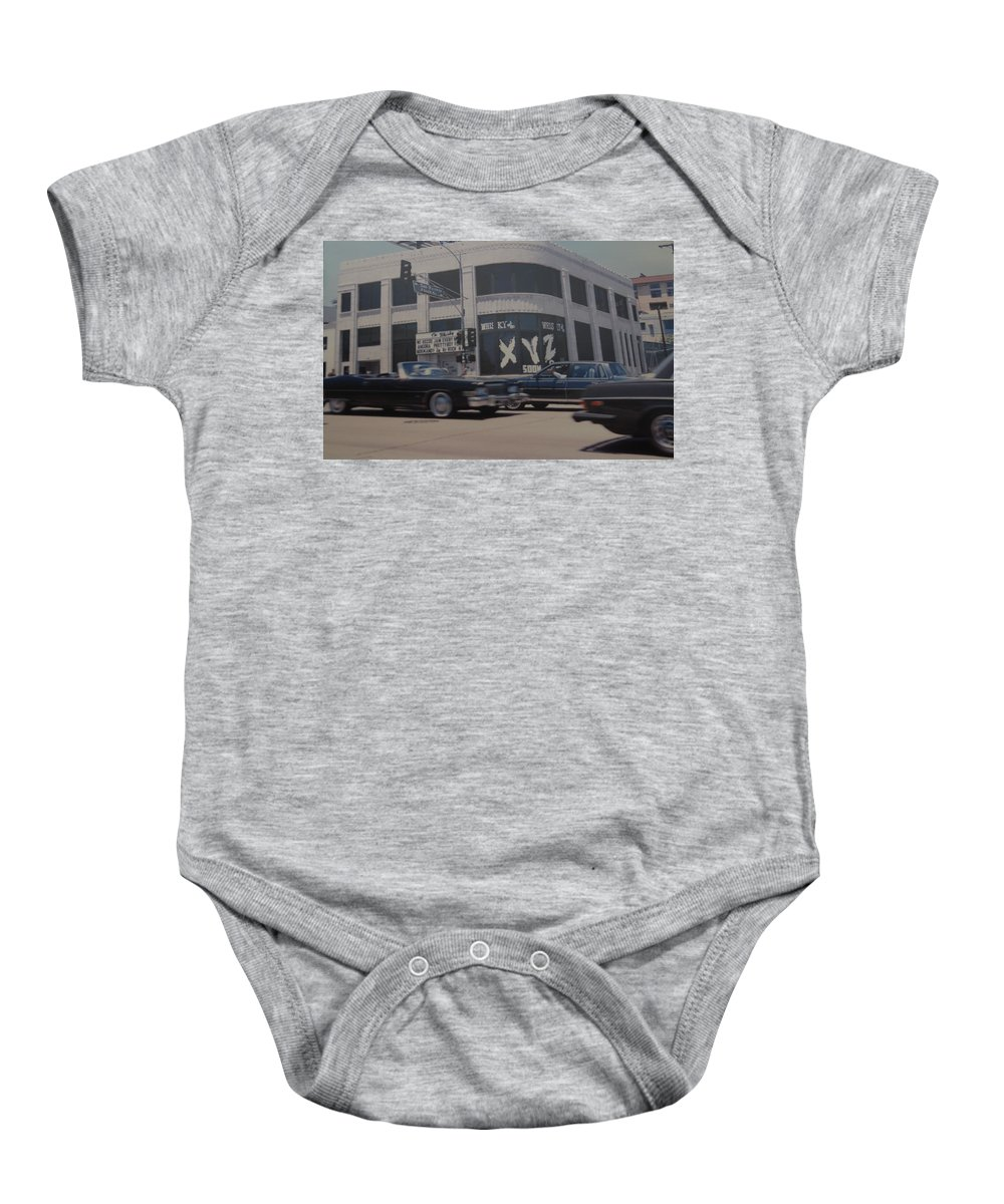 The Whiskey Baby Onesie featuring the photograph The Whiskey by Rob Hans